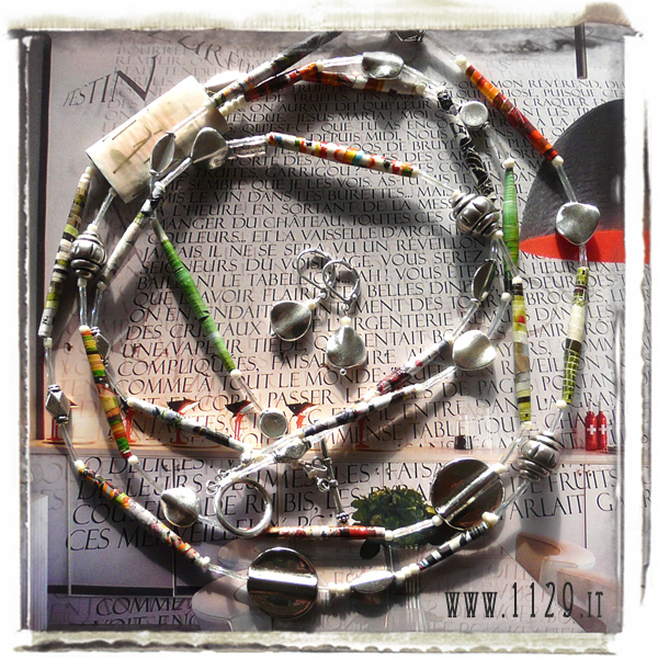 art collana necklace IMSILVIA 87cm