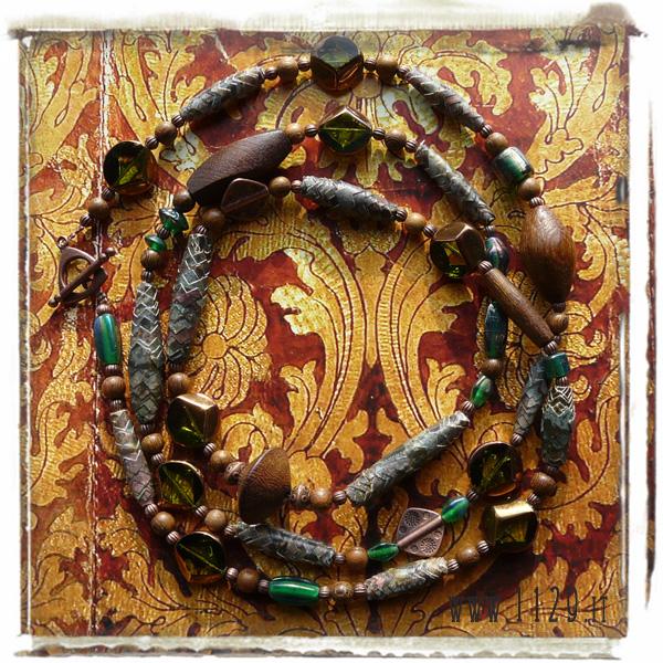 art collana necklace IM KLEE 2 186cm