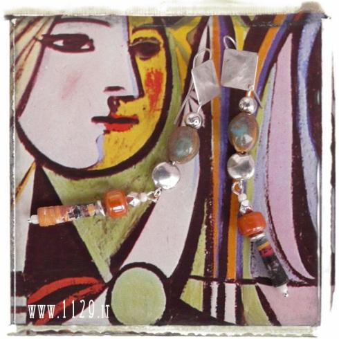 picasso art_orecchini_earrings_IMANTO_9cm