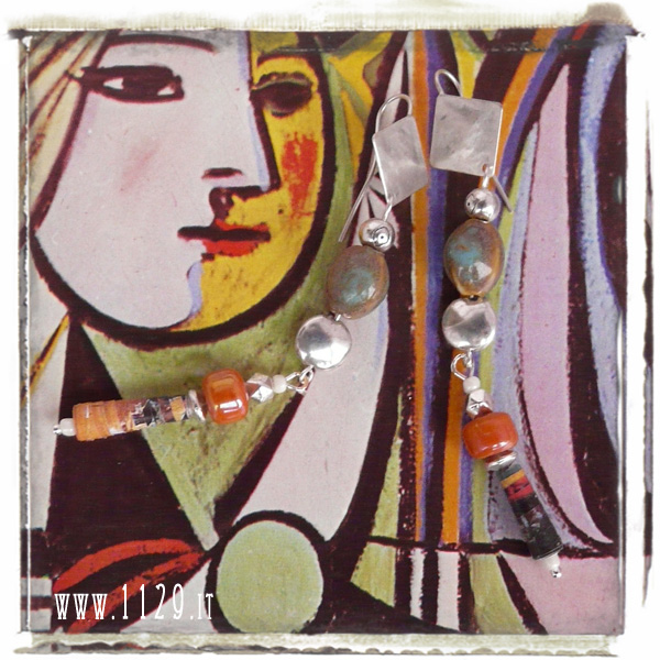 picasso art_orecchini_earrings_IMANTO_9cm