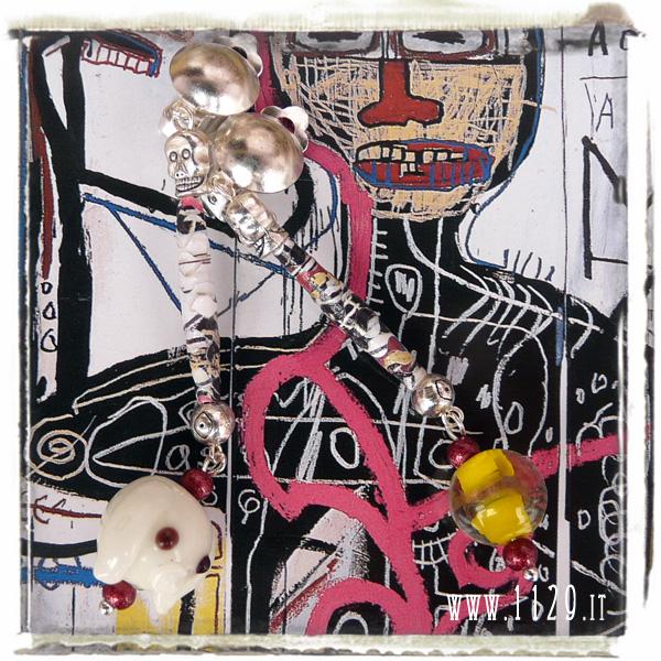 orecchini earrings IN BASQUIAT