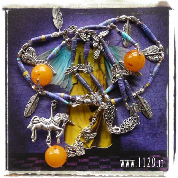 art collana necklace  maggie TAYLOR paper jewelery gioielli di carta