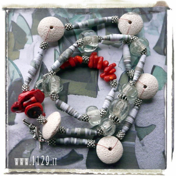 art-collana-necklace-LAGEERS-88cm omaggio alla mostra di kendell geers