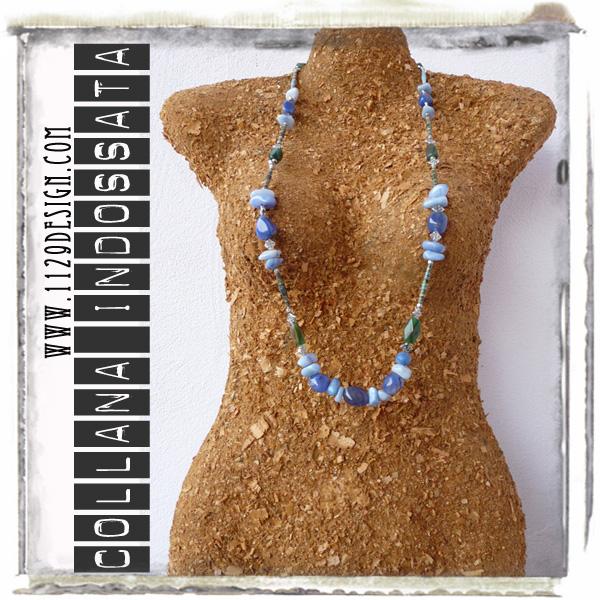 art collana necklace IMEIRE indossata