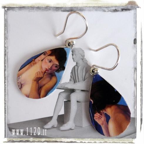 LF-ARTVR2-orecchini-earrings-1129 cagnaccio di san pietro - allo specchio 1927