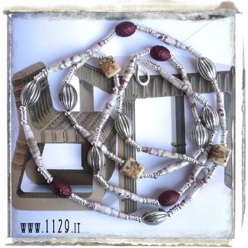 LIBEIM art collana necklace 115cm
