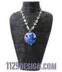 greenaway-zoo-di-venere-collana-altered-art-indossata 46 6pend