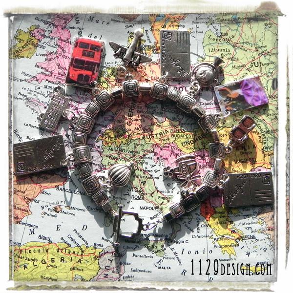 bracciale-viaggiatrice-charm-capitali-europa-travelling-europe-ciondoli-altered-art-b