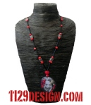 collana-toni-morrison-dono-altered-art-corallo-rosso-nero-necklace-1129design