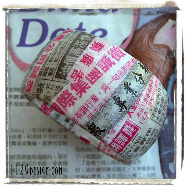 bracciale-bangle-carta-quotidiano-thai-riciclo-asia-recycled-asian-newspaper-bracelets-pink-1129design